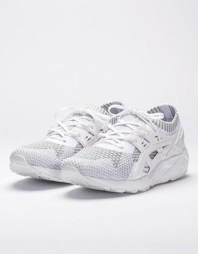 "Asics Gel-Kayano Trainer Knit ""Reflect"" White"