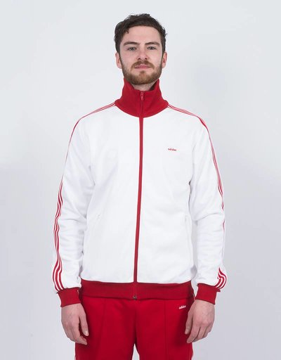 adidas Originals x Made In Germany Beckenbauer Tracksuite White/Red
