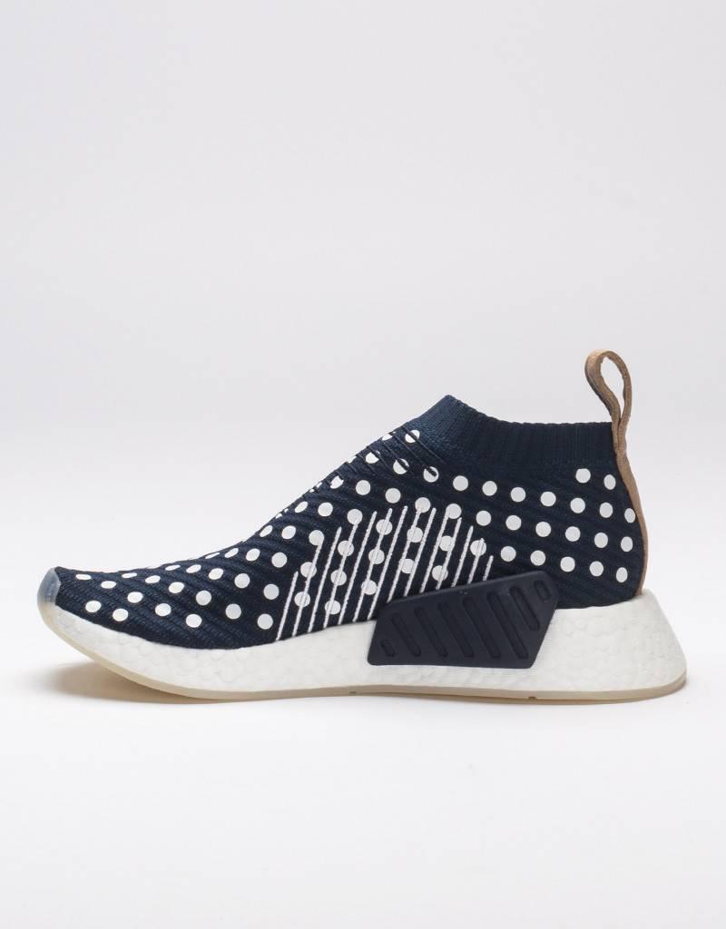 adidas Womens NMD City Sock 2 Polka Dot Blue