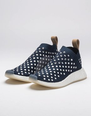Adidas adidas Womens NMD City Sock 2 Polka Dot Blue