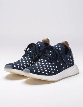 Adidas Adidas WOMEN's NMD_R2 PK polka dot blue white