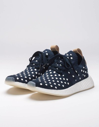 Adidas WOMEN's NMD_R2 PK polka dot blue white