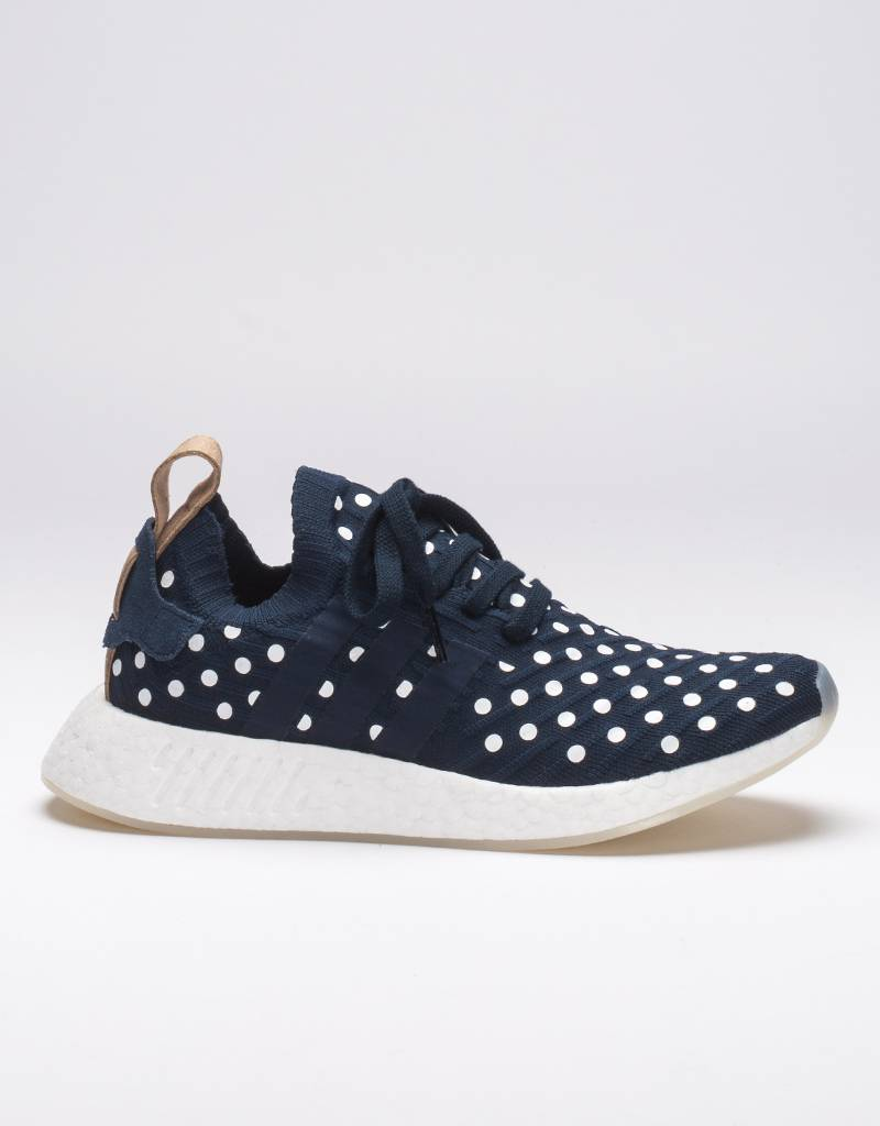 Adidas WOMEN's NMD_R2 PK polka dot blue white