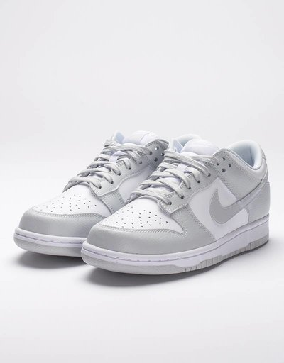 Nike women's dunk low white/pure platinum