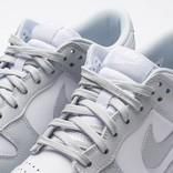 Nike women's dunk low white/pure platinum