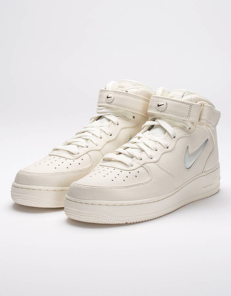 Nike lab air force 1 mid retro premium sail/sail