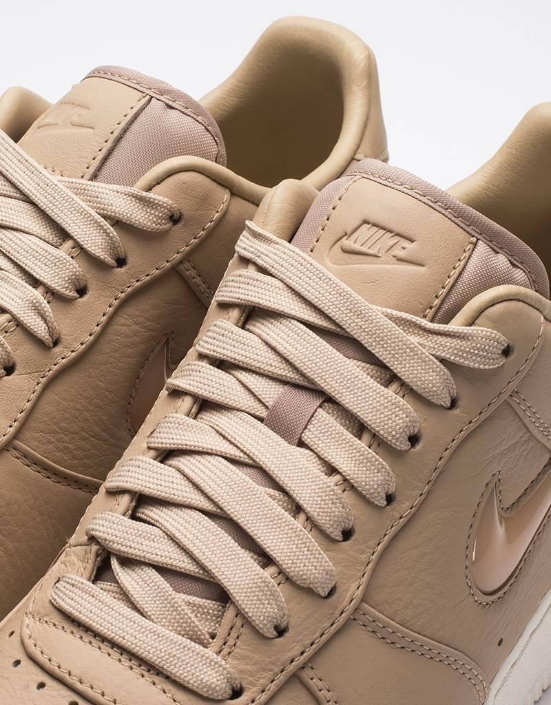 Nike lab air force 1 premium retro mushroom/sail