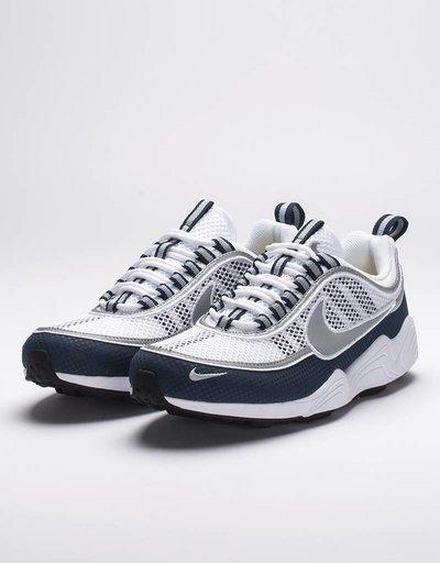 NikeLab air zoom spiridon white/silver light midnight