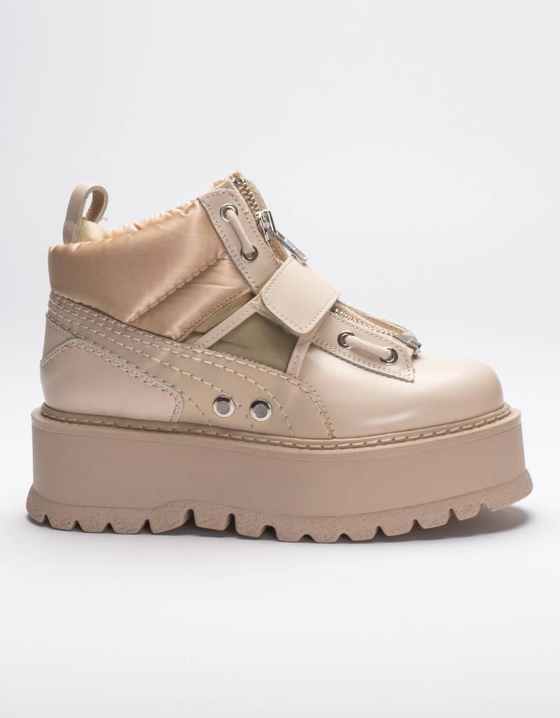 Puma x Fenty women's sneaker boot strap pink