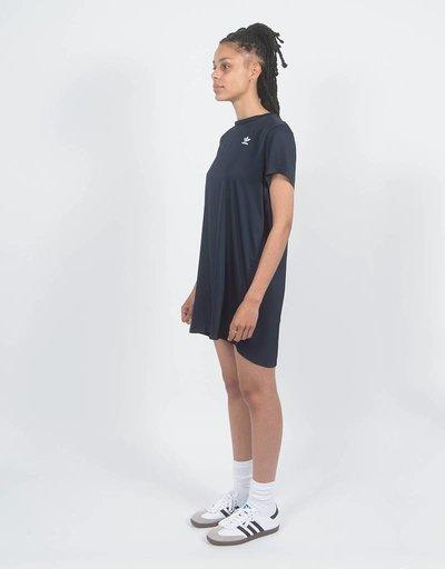 adidas Womens TRF Tee Dress Blue