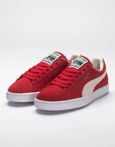 Puma Suede Super High Risk Red