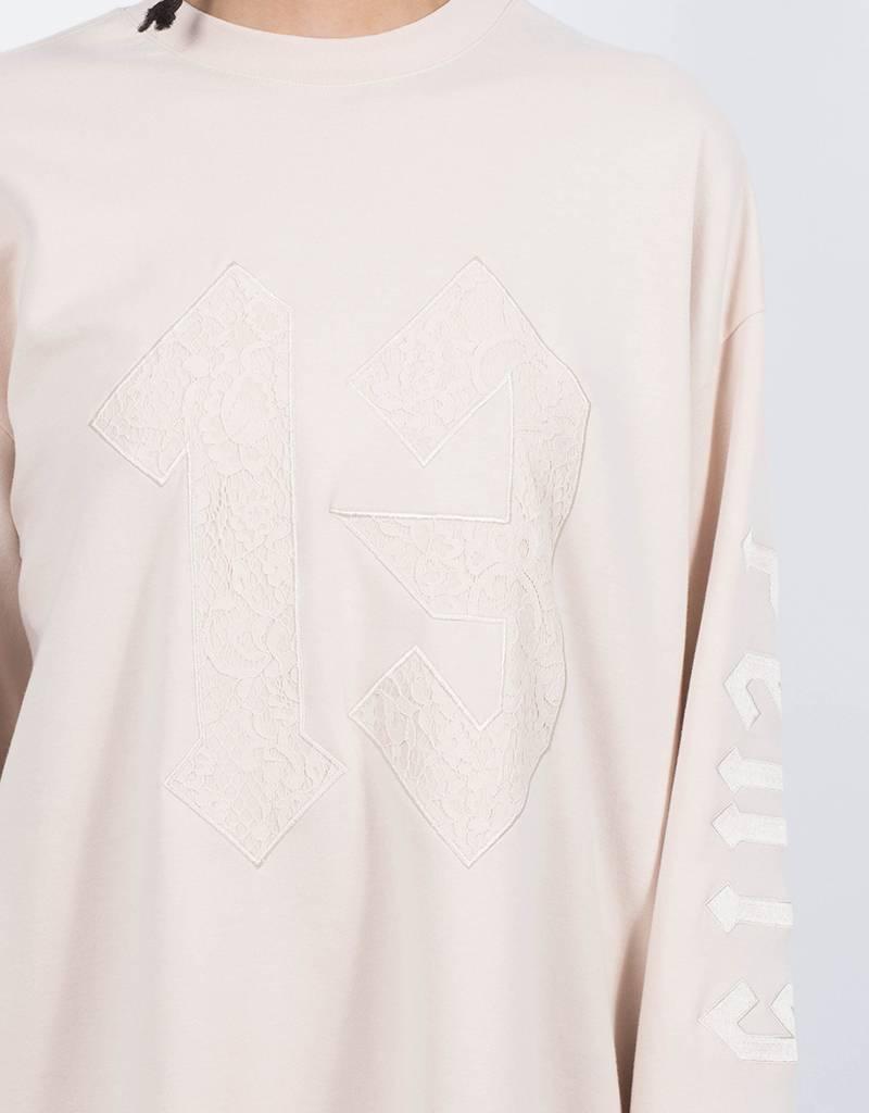 Puma Fenty Longsleeve Graphic Crew Neck Tshirt Pink Tint