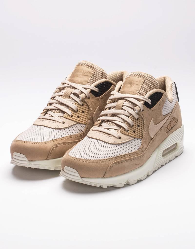 Nike women's air max 90 pinnacle mushroom/oatmeal