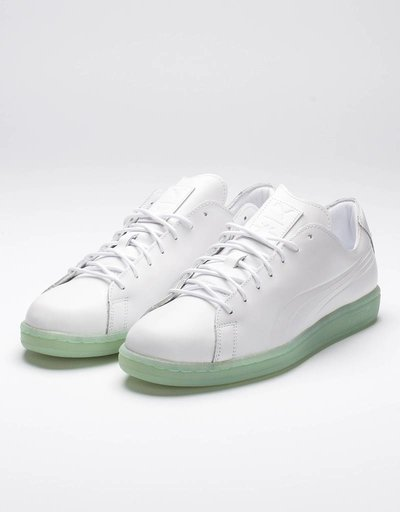 Puma x Daily Paper Match Raw Edge/White-gossamer green