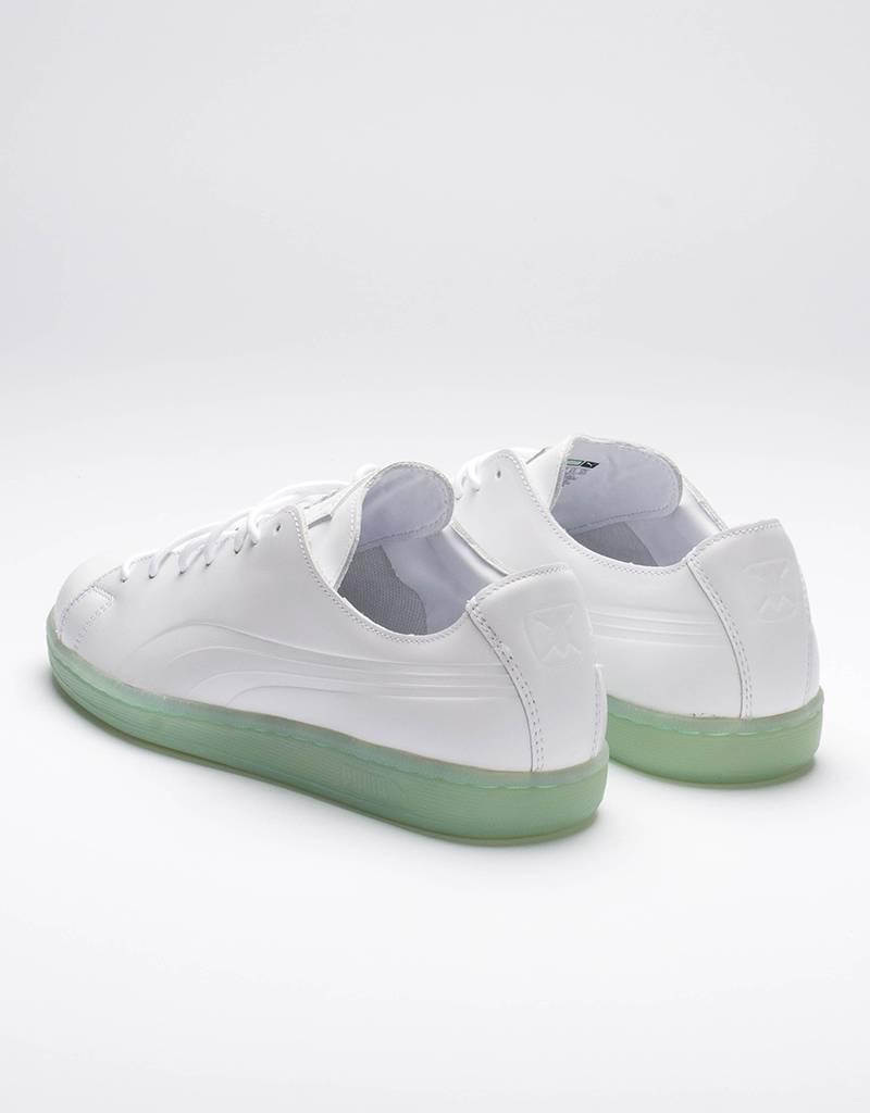 Puma x Daily Paper Match Raw Edge/White-gossamer green