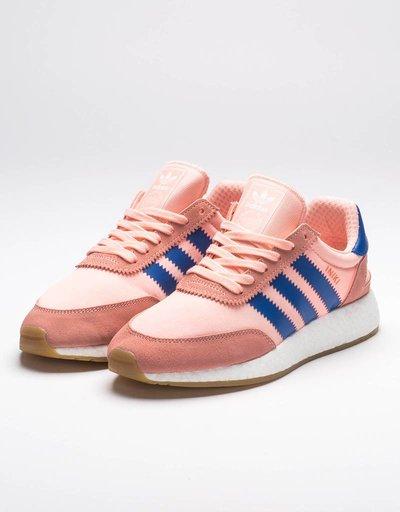 adidas Womens Iniki Runner Haze/Coral Blue