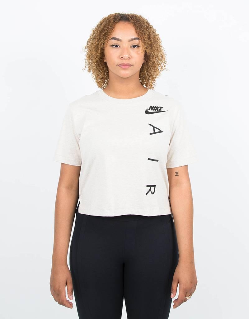Nike women's sportswear top oatmeal