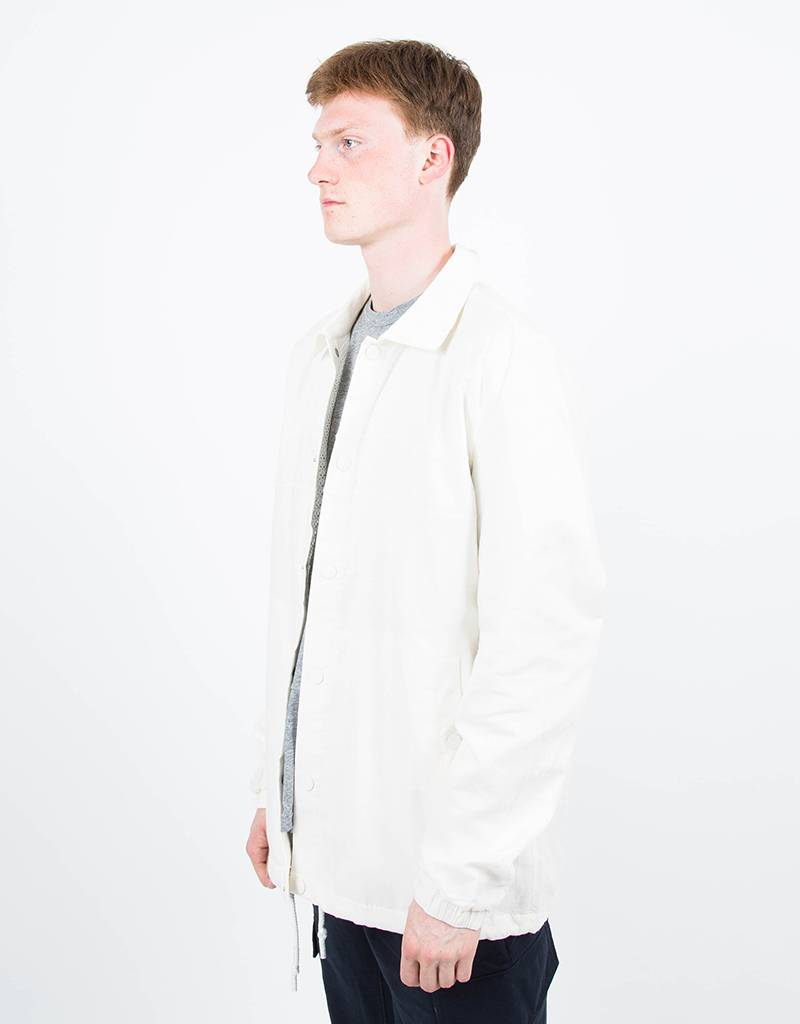 adidas Originals Statement x Wings & Horns Linen Coach Jacket Off White