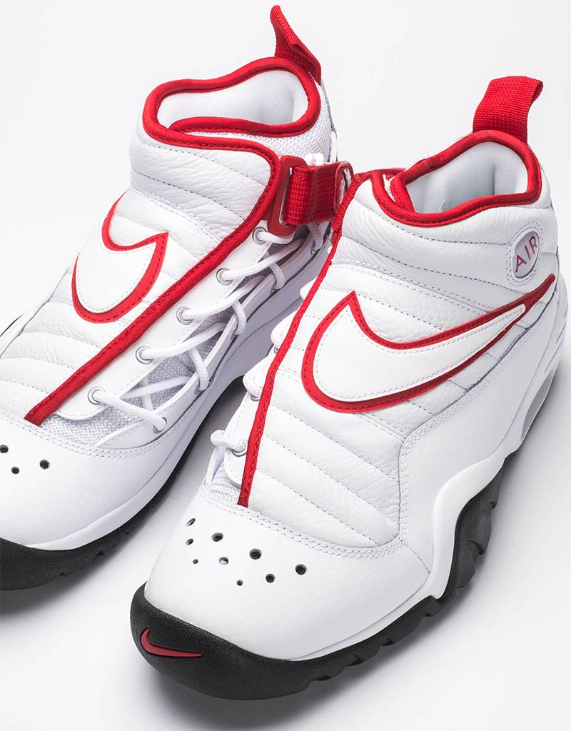 Nike air shake ndestrukt white/white black