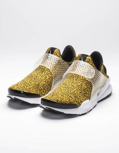 Nike air sock dart QS university speckled gold/black white