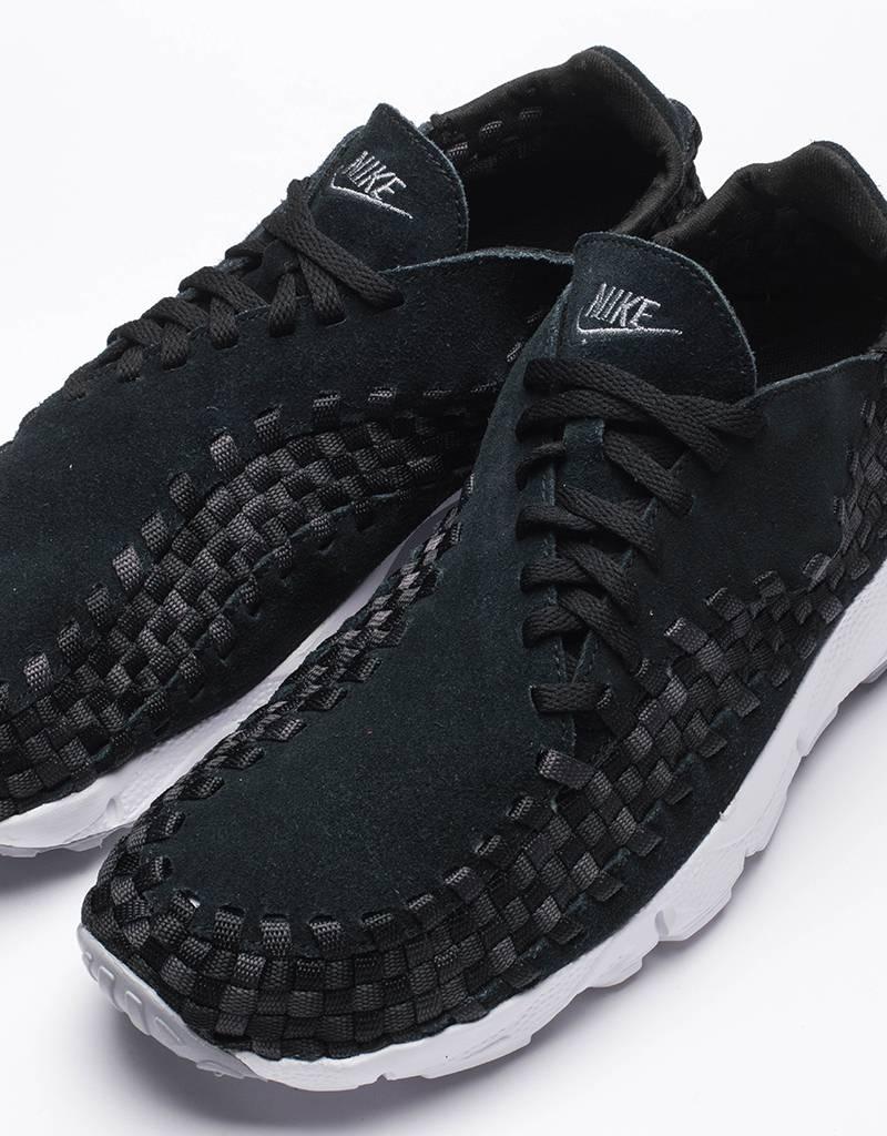 Nike mens air footscape woven Black/dark grey