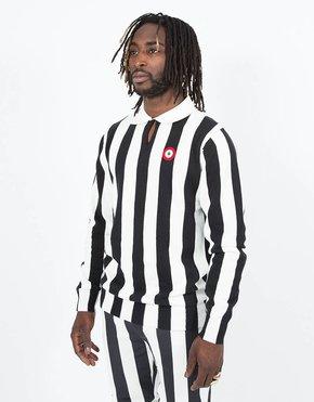 Kappa Kappa Authentic Stripes Pull Over White/Black