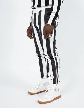 Kappa Kappa Authentic Stripes Trousers White/Black