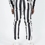 Kappa Authentic Stripes Trousers White/Black