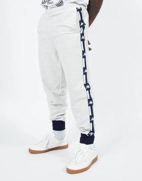 Kappa Kappa LA French Terry Reverse Pants Light Grey Melange
