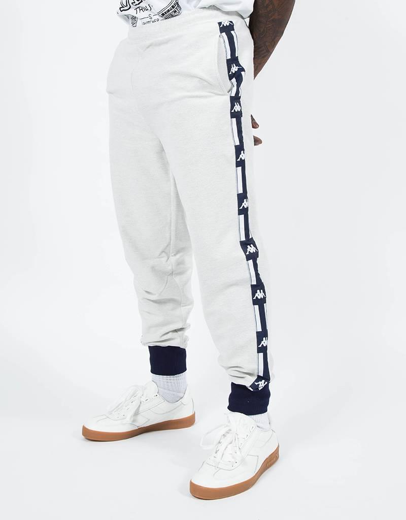 Kappa LA French Terry Reverse Pants Light Grey Melange