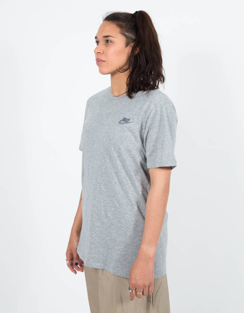 Nike NSW Tee Club Embroided Grey
