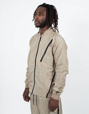 Nike Nike sportswear varsity jacket khaki/white/black