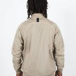 Nike sportswear varsity jacket khaki/white/black