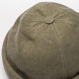 Beton Cire Miki Cap Kaki Leather