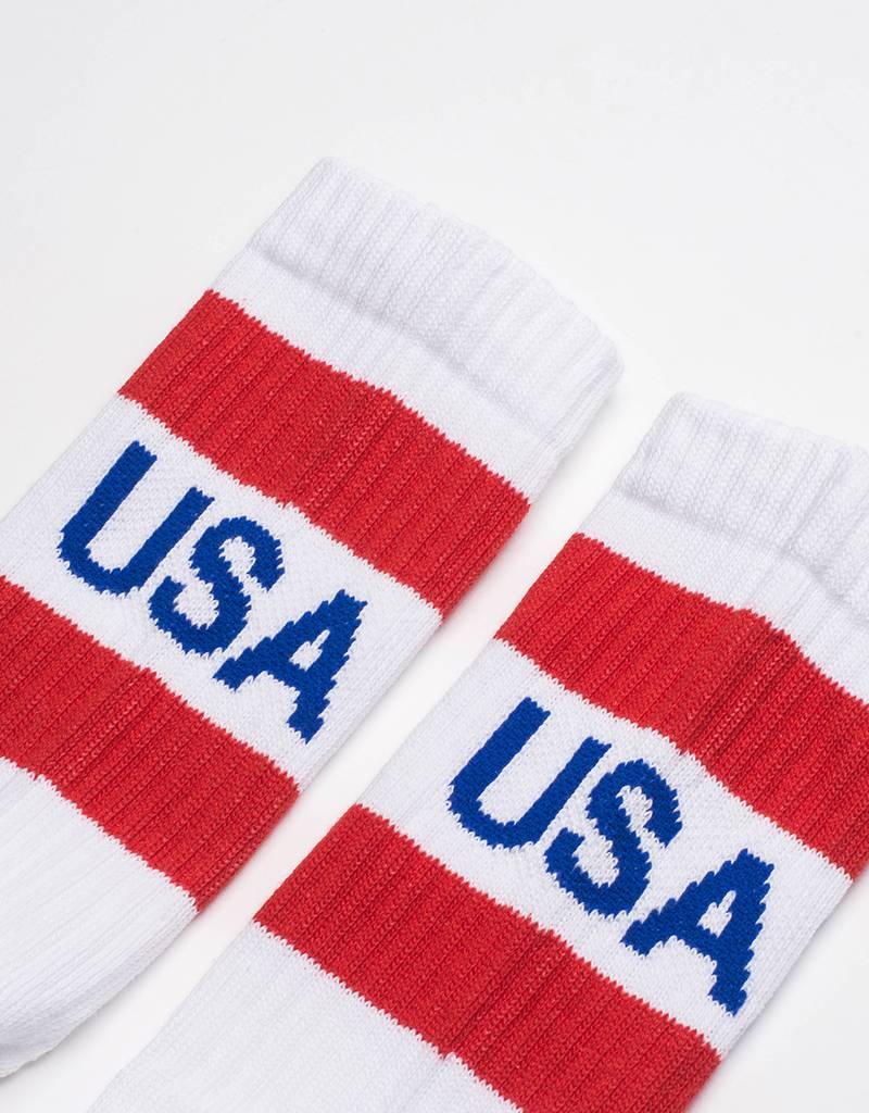 Kappa LA USA Socks White