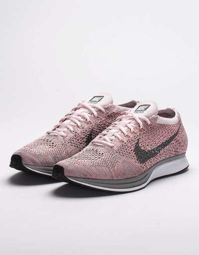Nike Flyknit Racer Pearl pink/cool grey bright melon