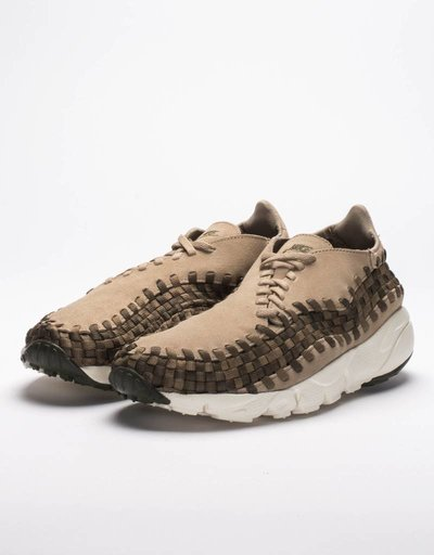 Nike air footscape woven nm khaki/medium olive-cargo khaki-sail