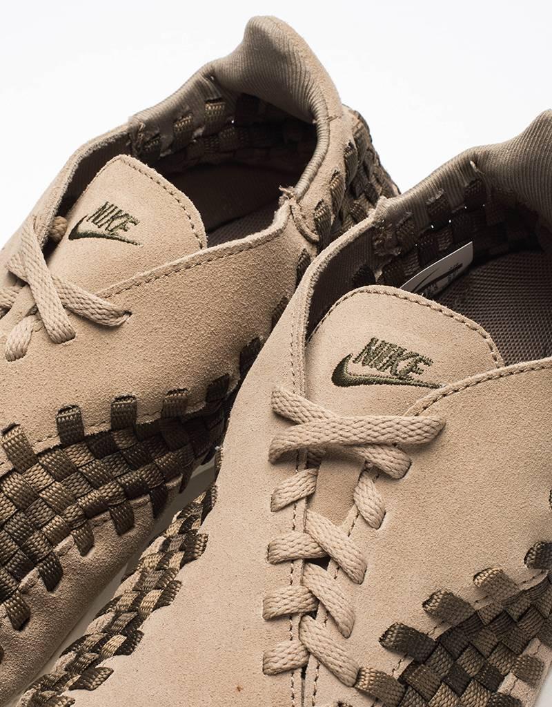 Nike air footscape woven nm khaki/medium olive-cargo khaki-sail