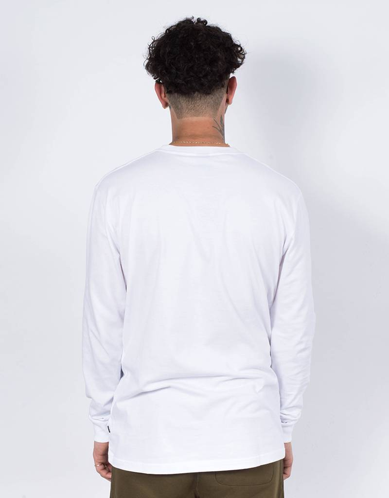 Patta Curve Loge Longsleeve white