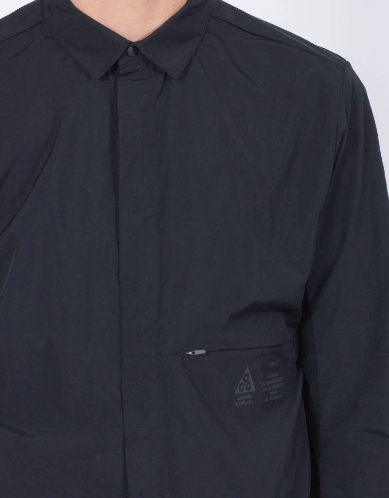 NikeLab ACG Shirt Jacket Black