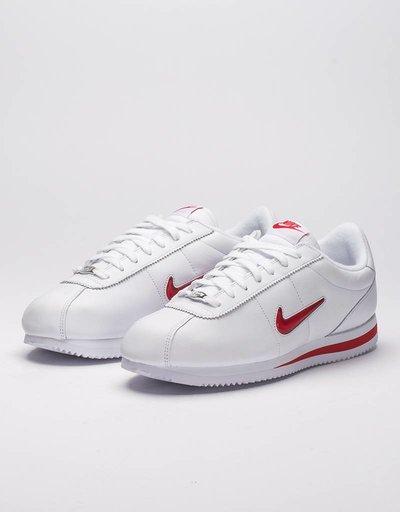 Nike Cortez Basic Jewel QS TZ white/University Red