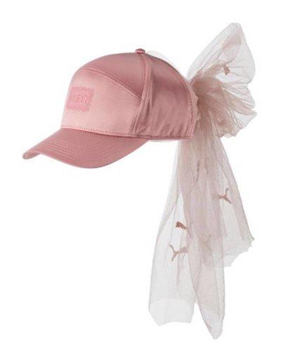 Puma Fenty Bow Cap Mesh Silver Pink