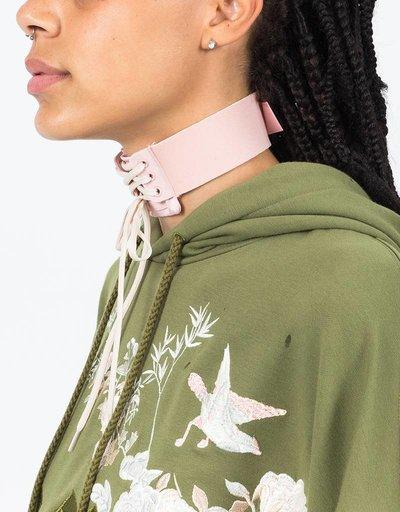 Puma Fenty Lace-Up Choker Silver Pink/Vanilla Ice