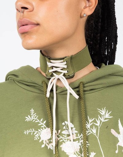 Puma Fenty Lace-Up Choker Olive Branch/Vanilla Ice