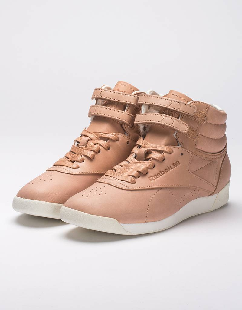 Reebok Womens Freestyle Hi Face 35 Optimstic