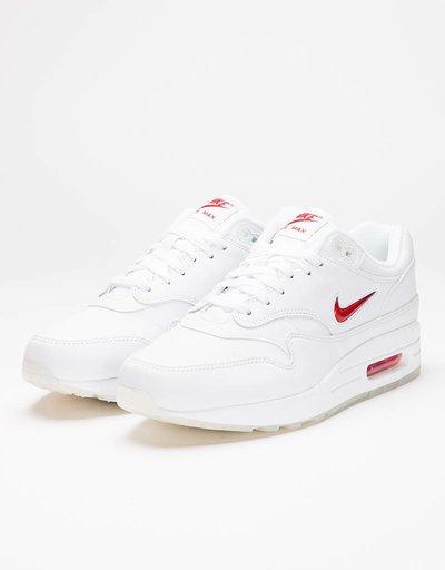 Nike Air Max 1 Premium Sc Jewel White/University Red