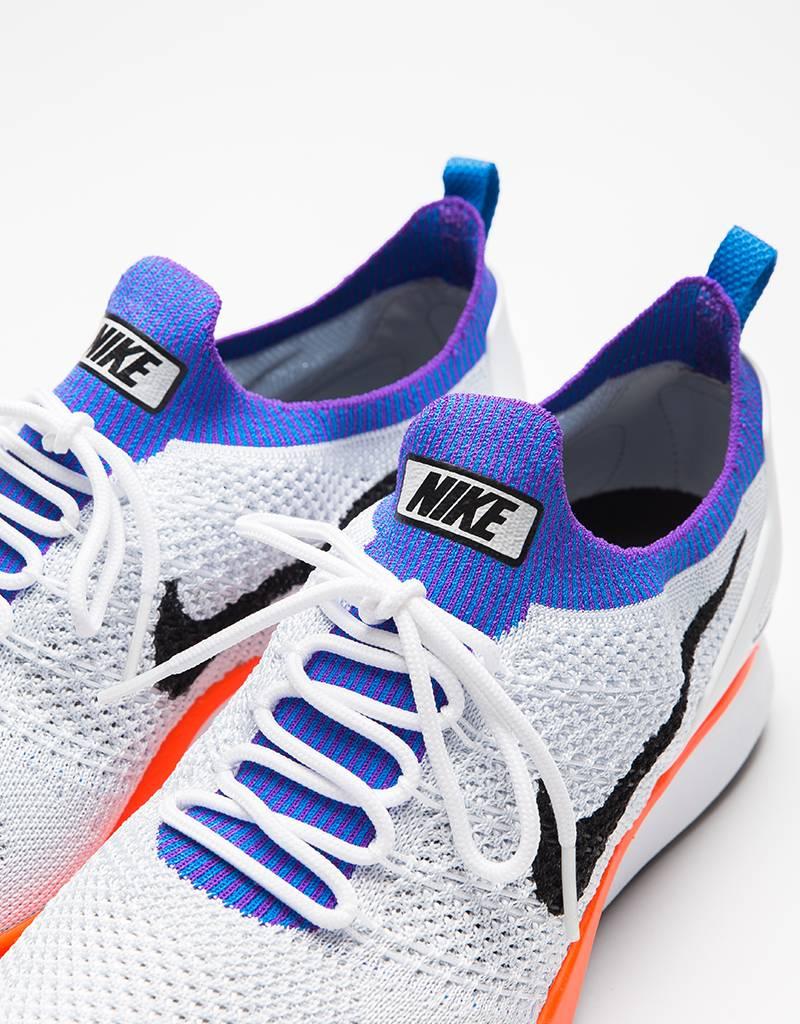 Nike Air Zoom Mariah Flyknit Racer White/Hyper Crimson-Pure Platinum