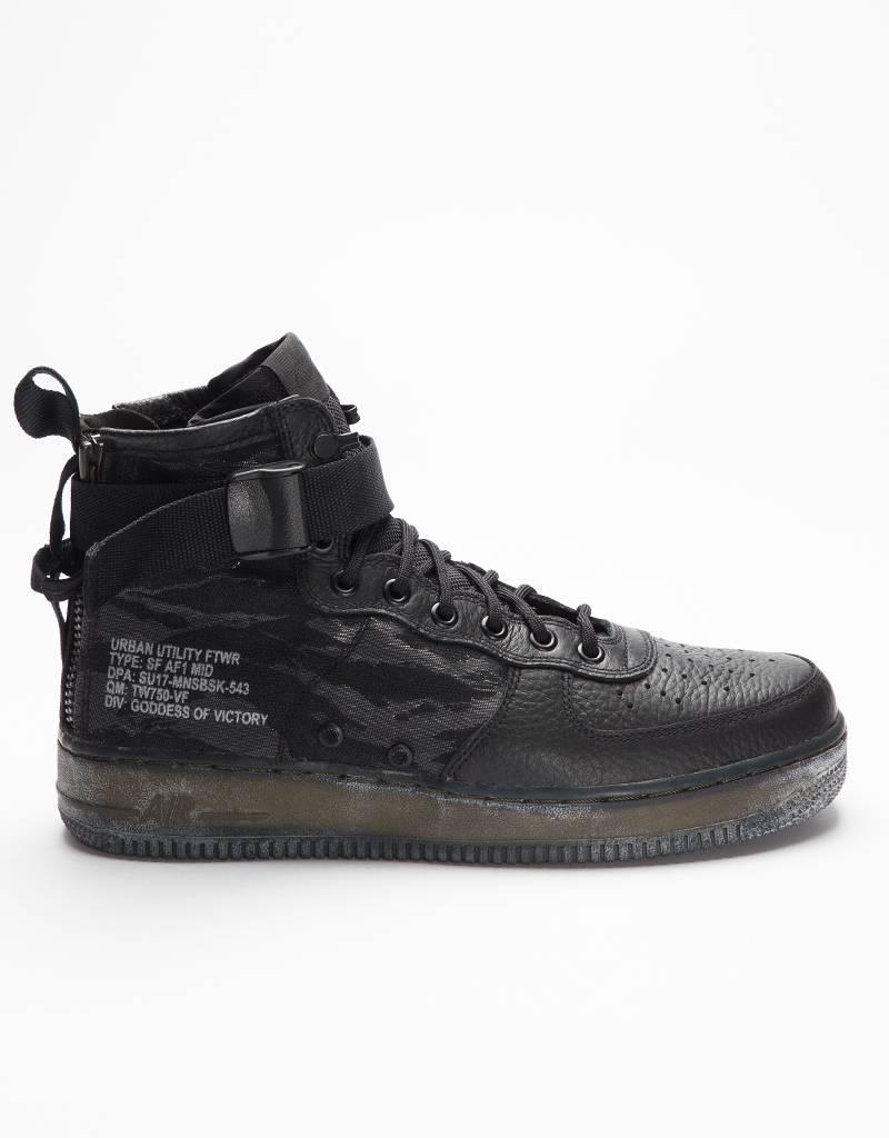 Nike Special Field Air Force 1 Mid Quickstrike Black/Black-Cargo Khaki