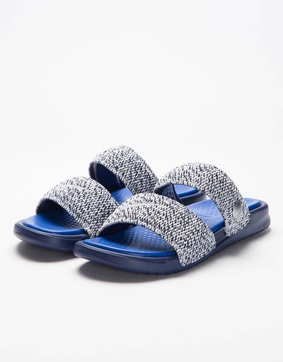 NikeLab x Pigalle Benassi Duo Ultra Slide Loyal Blue/Game-Royal White