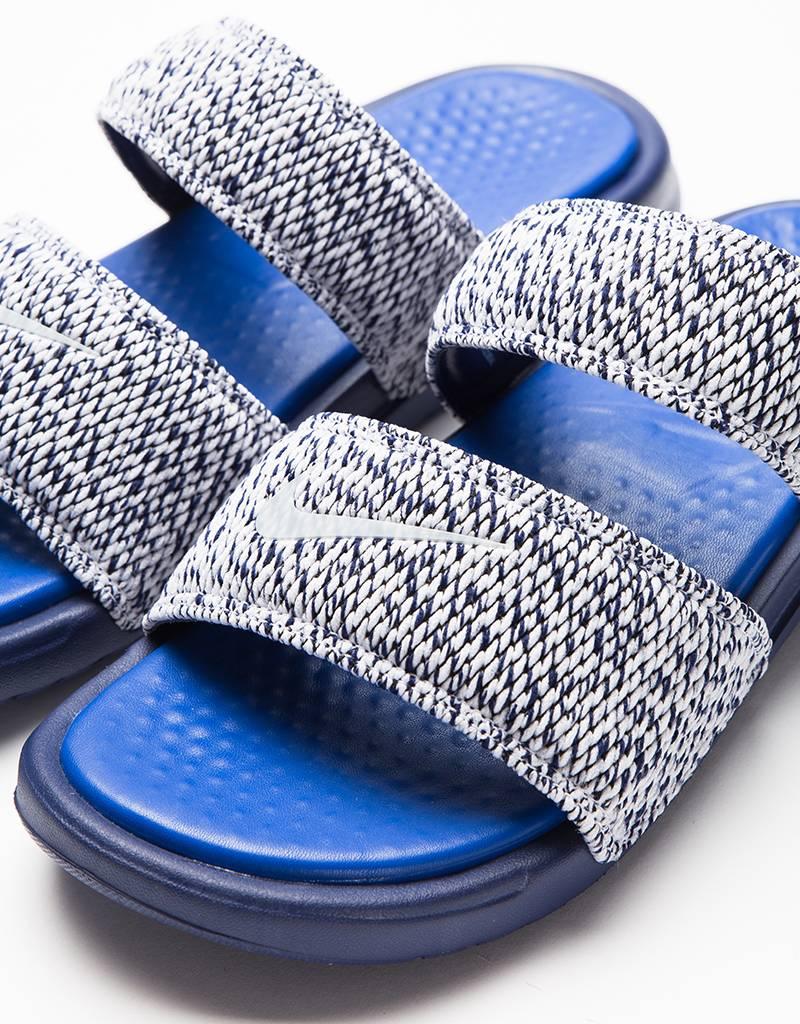 2660b0143f5a96 NikeLab x Pigalle Benassi Duo Ultra Slide Loyal BlueGame-Royal White .
